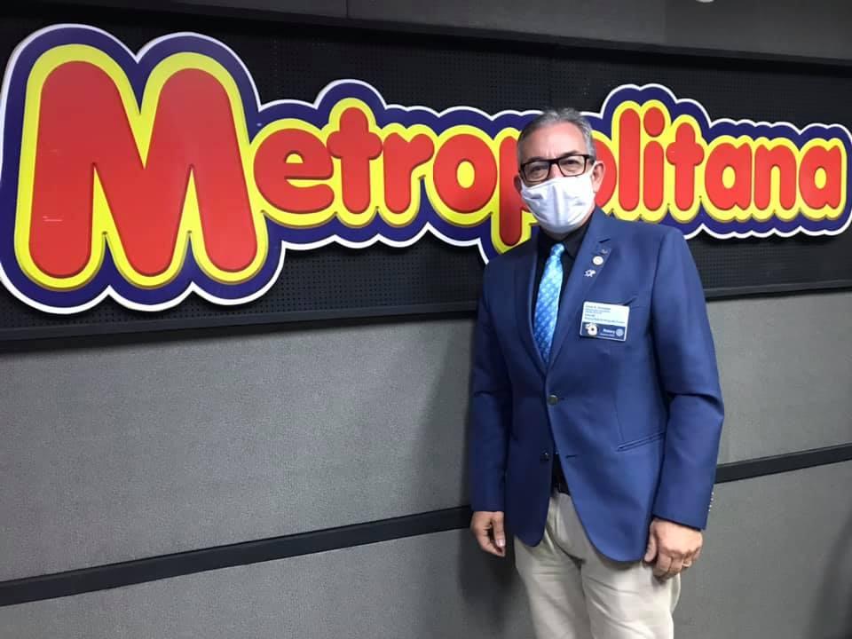 Governador assiste do Rotary de Mogi comenta sobre ações diante da pandemia
