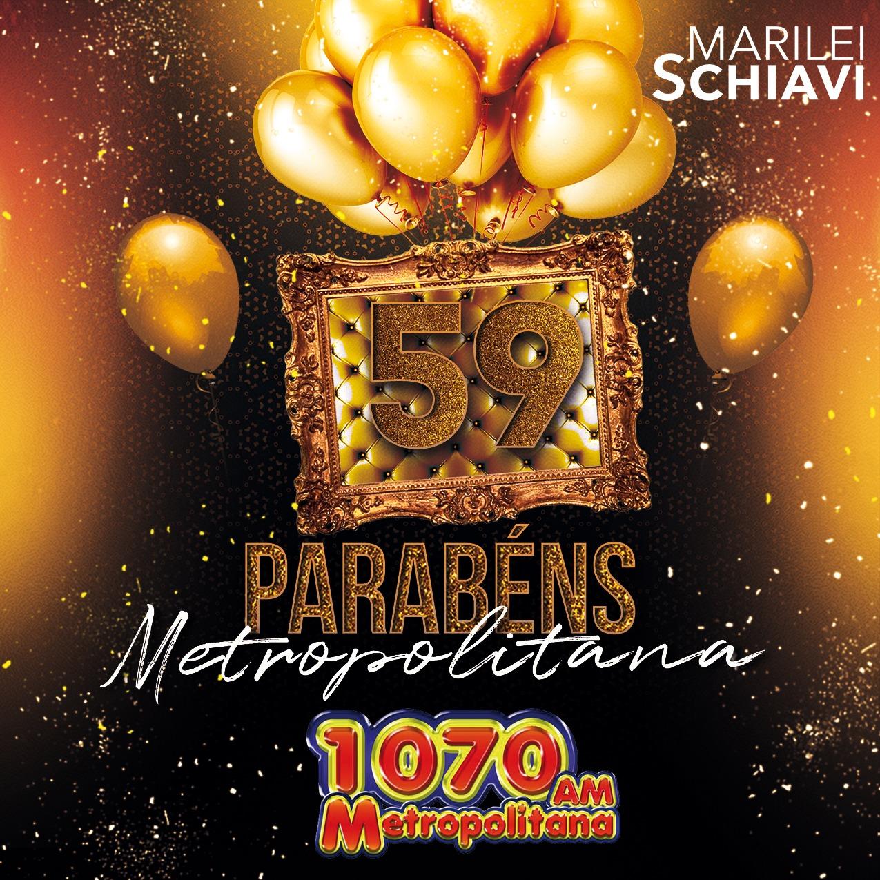 Parabéns Rádio Metropolitana, 59 anos no ar: ouça o especial de aniversário da rádio
