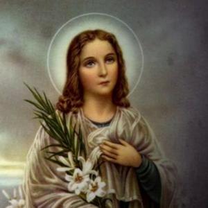 Mensagem de fé e oração: Santa Maria Goretti