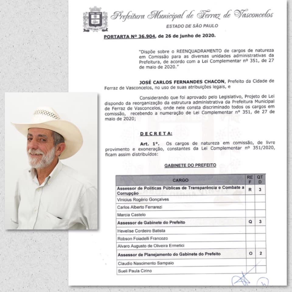 Zé Biruta nomeia condenada por fraudar licitações para cargo de combate à corrupção