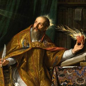 Mensagem de fé e oração: Santo Agostinho