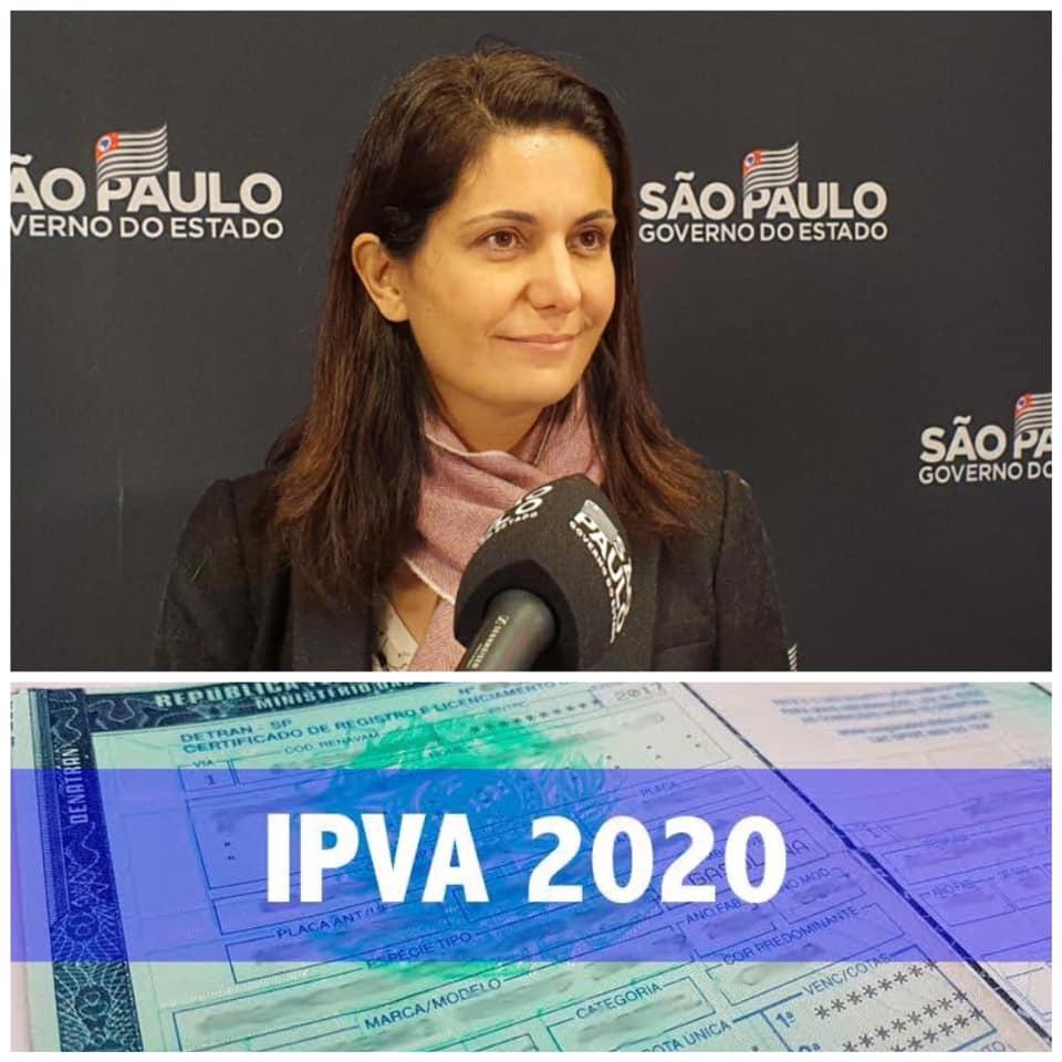 Procuradora do Estado de São Paulo e chefe da Dívida Ativa, Dra. Elaine Motta, explica sobre parcelamento do IPVA
