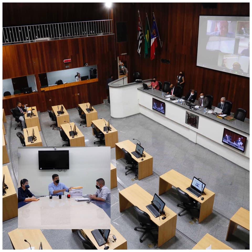 Vereadores denunciados pelo MP pedem afastamento de relatores da CP que conduz cassação dos parlamentares