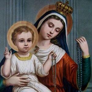 Mensagem de fé e oração: Nossa Senhora do Rosário