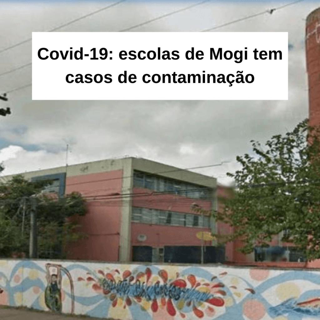 Covid-19: escolas de Mogi tem casos de contaminação