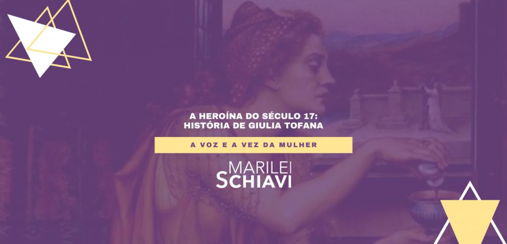 A heroína do século 17: história de Giulia Tofana