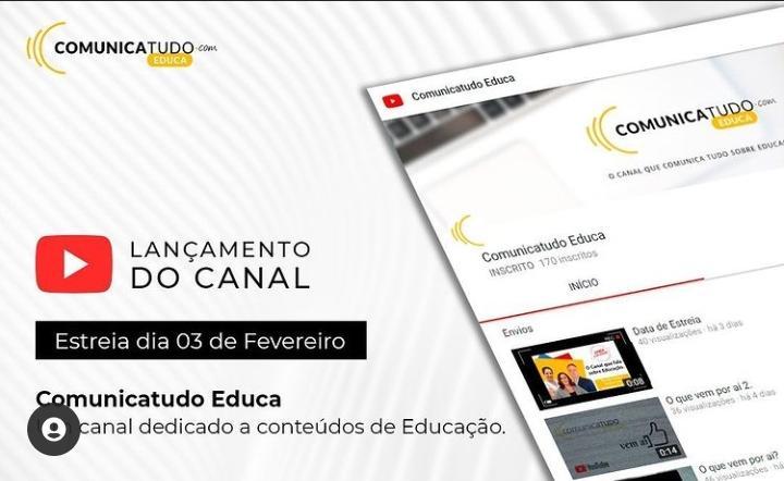 Especialistas da Comunicatudo lançam canal com conteúdos gratuitos para público interessado em Educação