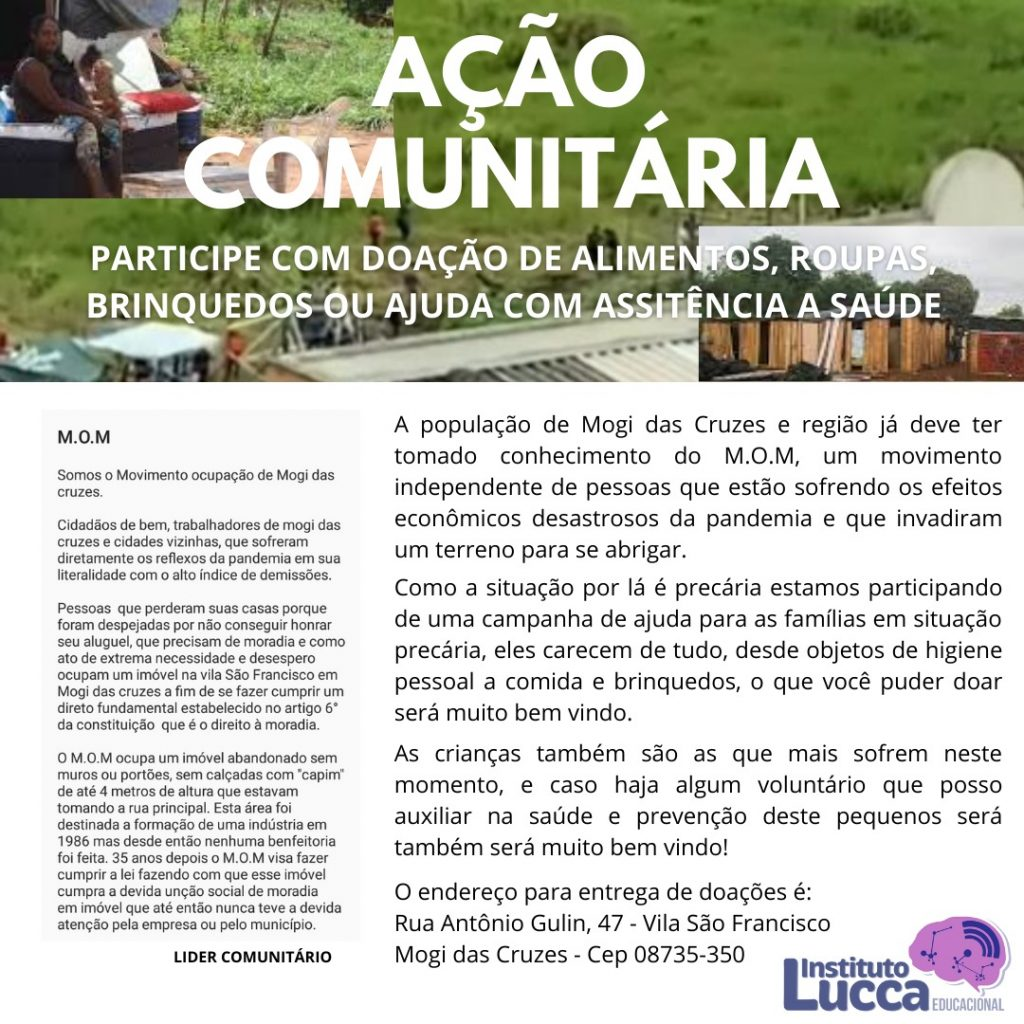 Membros do MST lançam campanha após invasão na Vila São Francisco