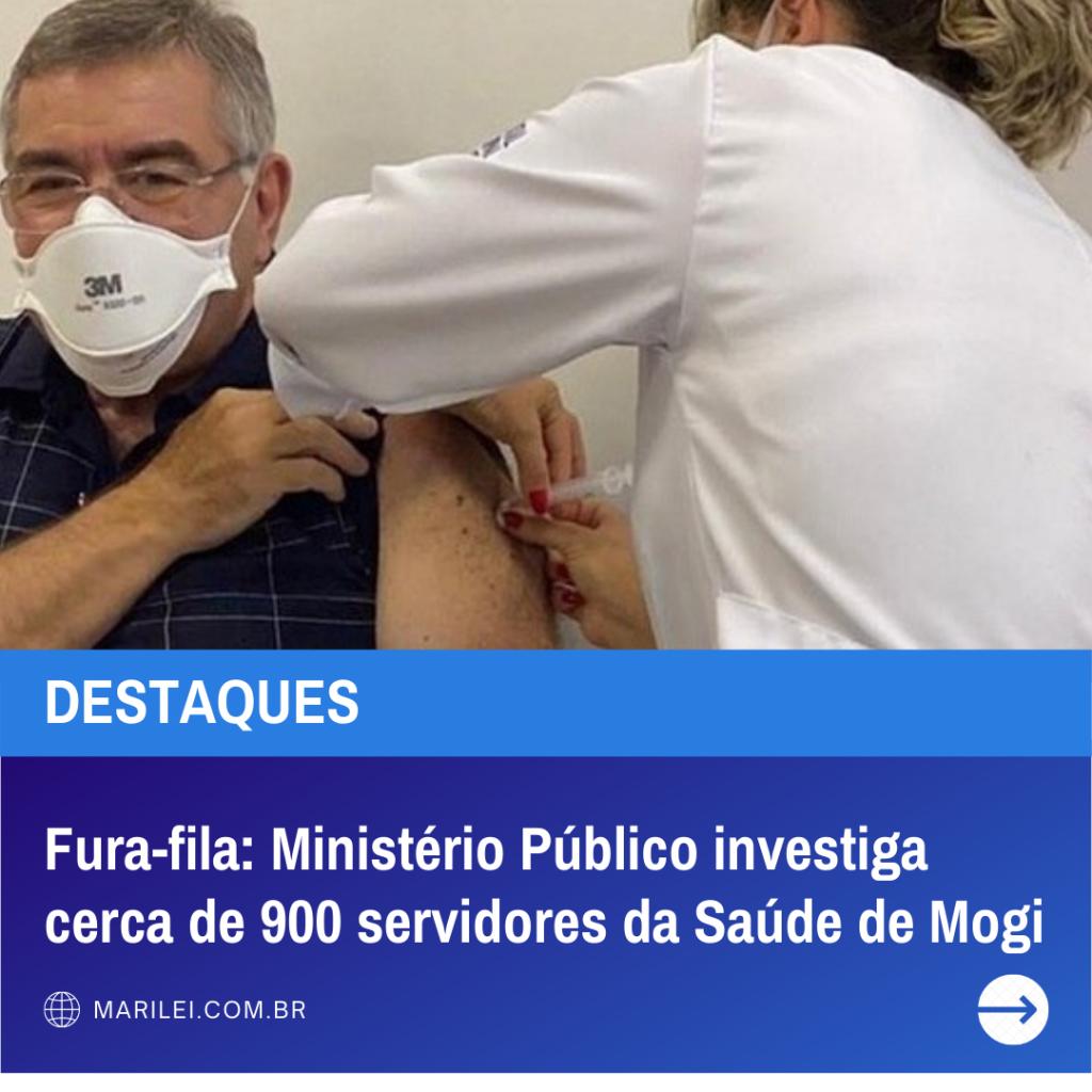 Fura-fila: Ministério Público investiga cerca de 900 servidores da Saúde de Mogi